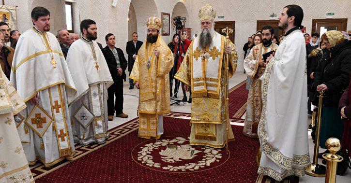 Înaltpreasfințitul Părinte Varsanufie a slujit în Catedrala Episcopală din Madrid