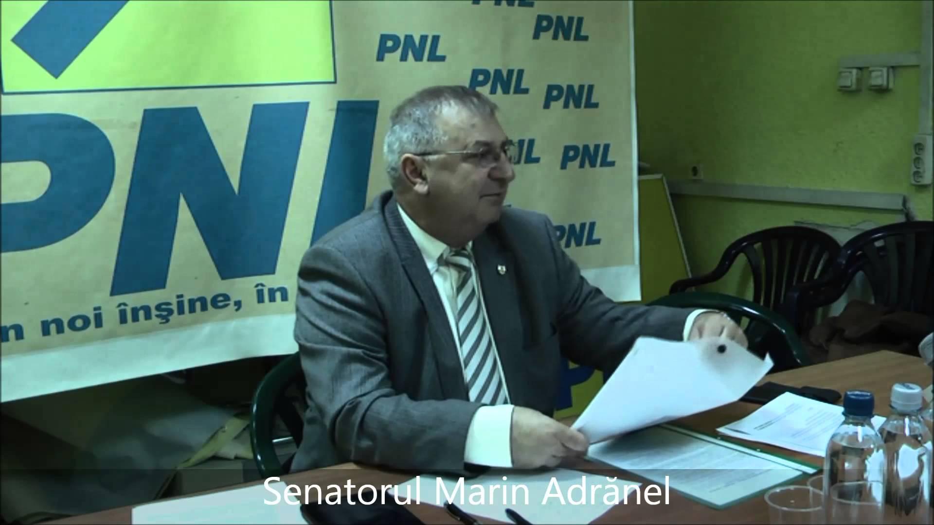 Adranel Cotescu senator