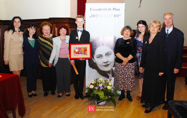 Concursul de Pian Irina Satchi 2014 juriu