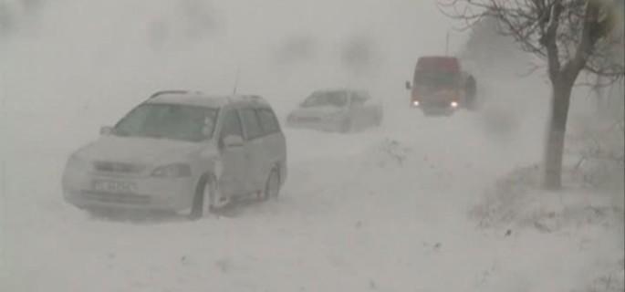 masini blocate iarna