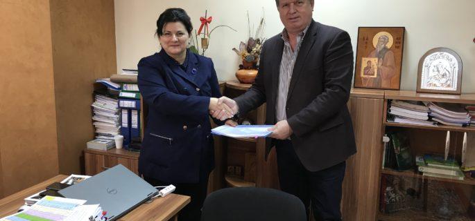 semnare contract CNI Matei Basarab