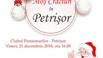 afis Mos Craciun in Petrisor